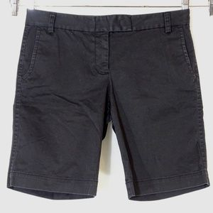 J Crew City Fit Bermuda Walking Shorts Size 8